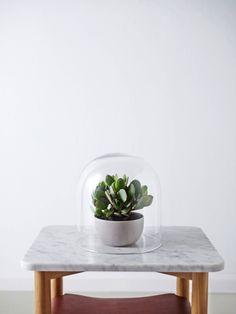Via Studio Arrc   Bell Jar   Green   Marble   Nordic