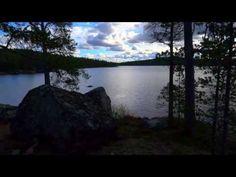 Inarinjärvi, elokuu 2013 - YouTube Lapland Finland.