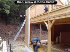 Home Building Kits - so simple you can Do-It-Yourself...GREEN BUILDING you can AFFORD - Prefab Post & Beam Home Kit http://www.Enviro-TechPostandBeam.com