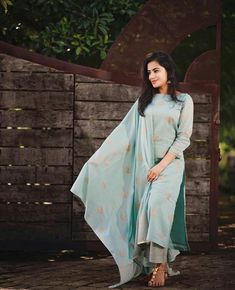 Online Shopping of Sky Blue Khadi Cotton Spring Salwar Suit from mongoosekart, best products,fatest delivery available here, Huge collection of Straight . Kurti With Jacket, Gown With Jacket, Latest Salwar Suits, Latest Salwar Suit Designs, Lehenga Choli Online, Bridal Lehenga Choli, White Salwar Suit, Sharara Suit, Fish Cut Gown