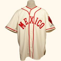 c0e676a9f Mexico City Red Devils 1957 Home Jersey. Diablo PatchSimply RedMexico CityNew  York YankeesBaseball ...