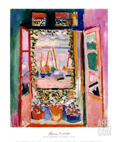 Open Window, Collioure, 1905, by Henri Matisse