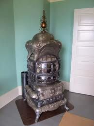 Here's a mighty fine old wood stove.