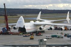 The biggest operating aircraft in the world is the Russian giant, Antonov An-225 Mriya