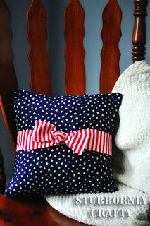 Stars & Stripes - Stubbornly Crafty LOVE this! Fourth Of July Decor, 4th Of July Decorations, July 4th, Birthday Decorations, Patriotic Crafts, July Crafts, Opposite Colors, Striped Chair, Independance Day