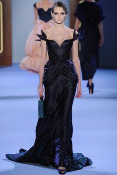 Ulyana Sergeenko Haute Couture   SS 2014 this remind me of the dress at the end of GiGi with Leslie Caron...