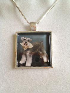 Dog Pendant Necklace by joytoyou41 on Etsy, $25.00