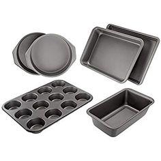 Energetic Kootek 7-piece Nonstick Bakeware Set Muffin Pan Loaf Pan Cake Pan Round Pan B.. Bakeware Customers First