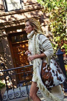 Tendance cheveux wavy wild: Hana Jirickova for Vogue Paris November 2015 by Matthew Kristall - Ralph Lauren