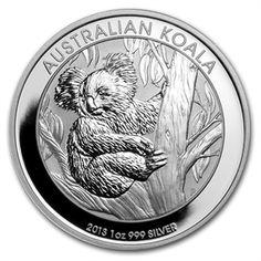 2013 1 oz Silver Koala