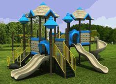 High quality Commercial Playgrounds suitable for schools daycare centres playgroups and kids play areas