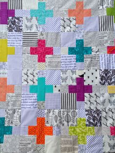 While trying to find new inspiration I fell into Pinterest and ... : plus quilts - Adamdwight.com