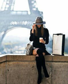 Over the knee Boots. Beauty on High Heels #Fashion