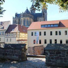"""In #Magdeburg Blick auf den #Dom"""