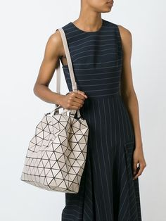 Bao Bao Issey Miyake geometric shoulder bag Look Of Young 9587c3ce02353