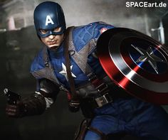 Captain America - I've got a crush on this guy's strength of character! He got muscles long before it was made a reality!