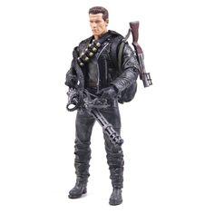 Classic Movie Arnold Schwarzenegger Doll NECA The Terminator 2 T800 Cyberdyne Showdown Model PVC Action Figure Toy 18cm
