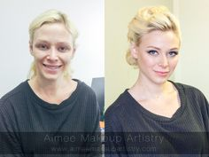 Makeover for a bridal shoot. Planner: the talented Frances Liu. Makeup & Hair by Aimee Lam.  www.aimeemakeupartistry.com