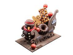 Buches Chocolat traineau
