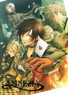 Amnesia #anime  Such a great anime. <3 I demand that you watch this when you have the time!! ;) XD