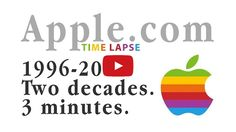 Apple.com Homepage Time Lapse: 2 Decades in 3 Minutes [Video] - http://iClarified.com/57444 - Check out this time lapse of the Apple.com homepage that condenses two decades of pages to just three minutes.