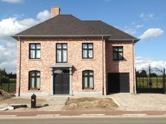 Dessel, Antwerp, single family house, new building - DIY Traumhaus Two Story House Design, Im Coming Home, Brick Architecture, Residential Architecture, Dream House Exterior, House Goals, Exterior Design, Future House, Home Fashion
