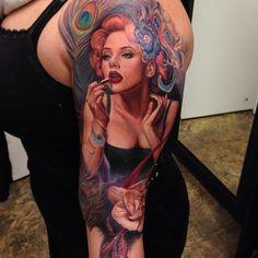 In Progress... Tattooist: Rember Orellana