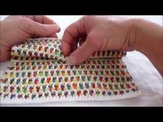 How to Make Interlocking Crochet Stitches : Crochet Stitches - YouTube