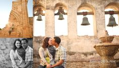 San Juan Capistrano Mission engagement photos, photographer, old spanish mission, Engagement Photography, Gilmore Studios, Kiss, Love, Engagement, Couple