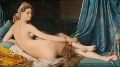 Ingres. La gran odalisca. Óleo sobre lienzo, 1814. Museo del Louvre.