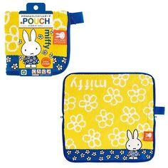 New Dick Bruna Miffy Zipper Towel Pouch For Makeup Cosme Cute Bag Rabbit Case B #Eyeup