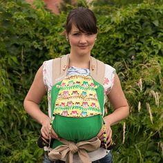 "Fräulein Hübsch ""Eulen Grasgrün"" Babysize"