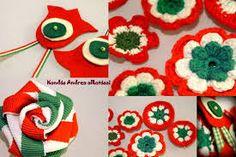 "Képtalálat a következőre: ""kokárda"" Diy Crafts To Sell, Classroom Decor, Origami, Red And White, Easter, Christmas Ornaments, Sewing, Holiday Decor, Crochet"