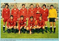 Poland team group in 1972.