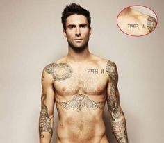 Image detail for -Adam Levine Tattoos | Tattoos
