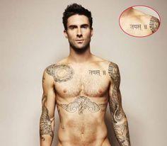 Adam Levine Tattoos, nuff said!!!!!!!