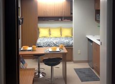 """""""Living Big in a Small Space"""": 96 square feet of living space"""
