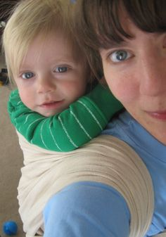 Great baby wearing guide from Becoming Mamas - many great tips for safety and proper positioning