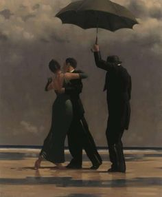 Classy Sentimental Scenes  Jack Vettriano Paints Romantic Depictions with a Hard-Boiled, Noir Feel
