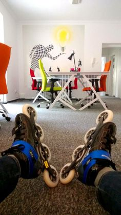 Take it easy!  HUB KOLEKTYW #coworking #Mymeetingrooms
