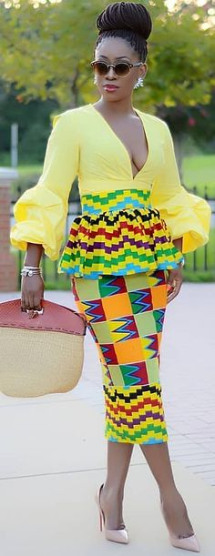 we have collected together the most 37 styles of the Best African dresses Attire Fashion for African American women to wear on the next year that attractive their beauty and catch friends eyes. Best African Dresses, African Print Dresses, African Attire, African Wear, African Fashion Dresses, African Women, African Fashion Designers, African Inspired Fashion, African Print Fashion