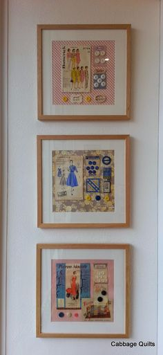 vintage sewing art - Treehouse Textiles