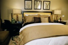 A guest room at The Inn and Spa at Parkside in Sacramento, CA