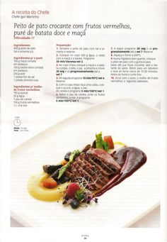 Revista bimby 14 Ravioli, Food Inspiration, Food And Drink, Yummy Food, Beef, Cooking, Recipes, Sweet Recipes, Tailgate Desserts