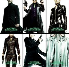Kick-ass teaser poster series from The Matrix Reloaded (2003)