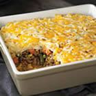 shepard's pie is always a good one with ground beef, sure deer would be just as good! :)