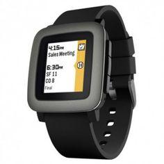 Smartwatch Pebble Time negro