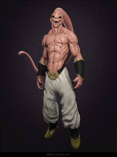 Buu on Behance. Visit us at http://digitalart.io for more great digital art. D'autres figurines de Dragon Ball : http://amzn.to/2kT3swF