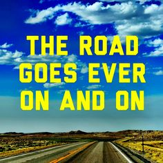 The road goes ever on and on. #thehobbit #hobbit #thehobbitmovie #hobbitmovie