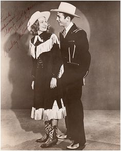 Picture of Hank Williams — Hank & Audrey Williams.